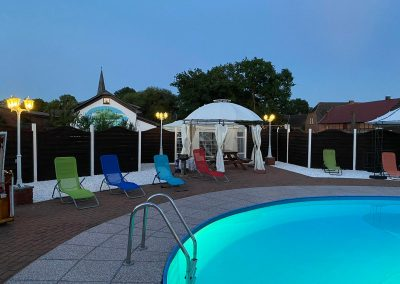 Pool abends -2