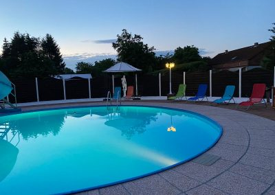 Pool abends -3